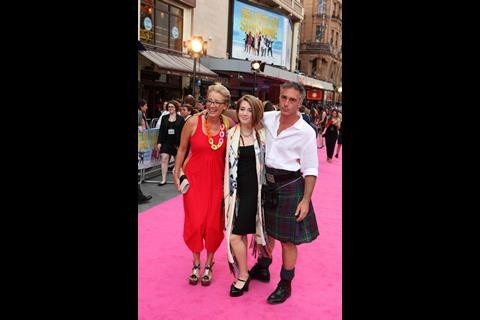 Emma Thompson, Greg Wise and daughter Gaia